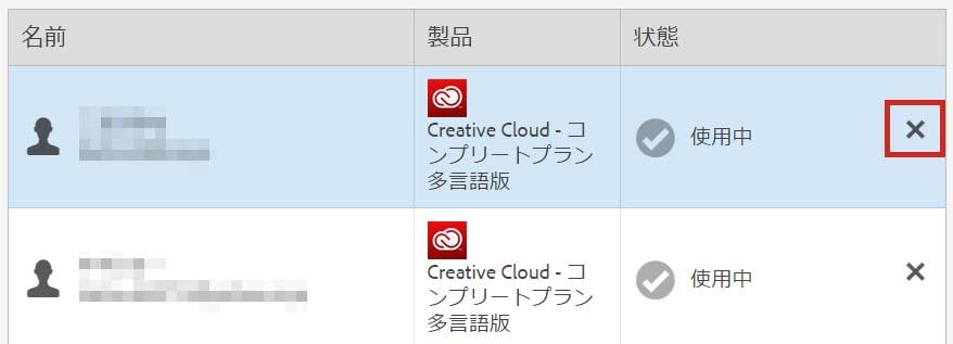 AdobeCCグループ版シート数変更方法
