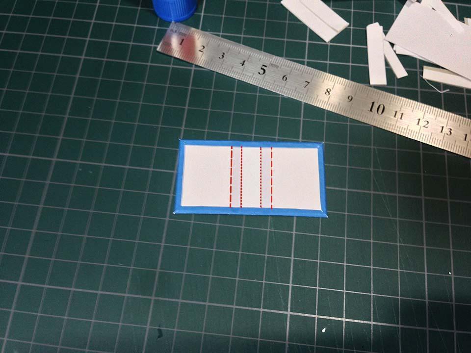 フリー素材・豆本の型紙と作り方