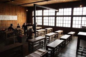 廃校・共和町かかし古里館・教室