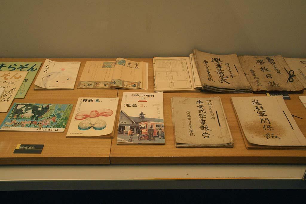 廃校・共和町かかし古里館・レトロ展示
