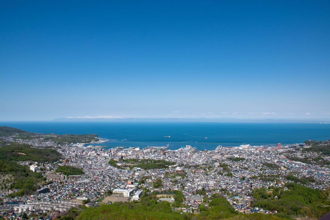 天狗山からの眺望