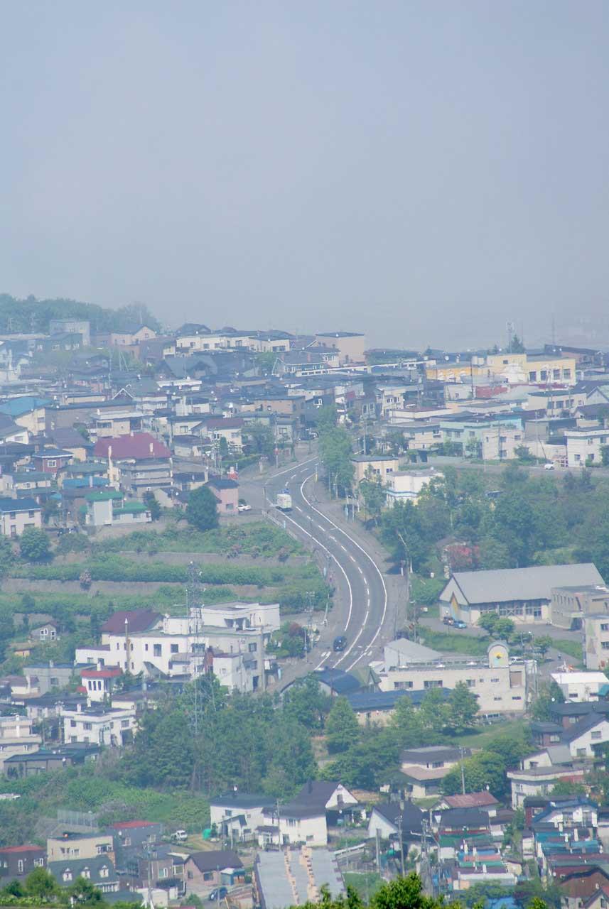 写真:小樽撮影スポットその1「ワインの丘」