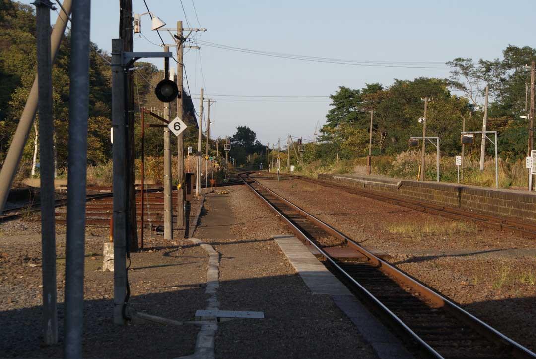 函館本線・然別駅
