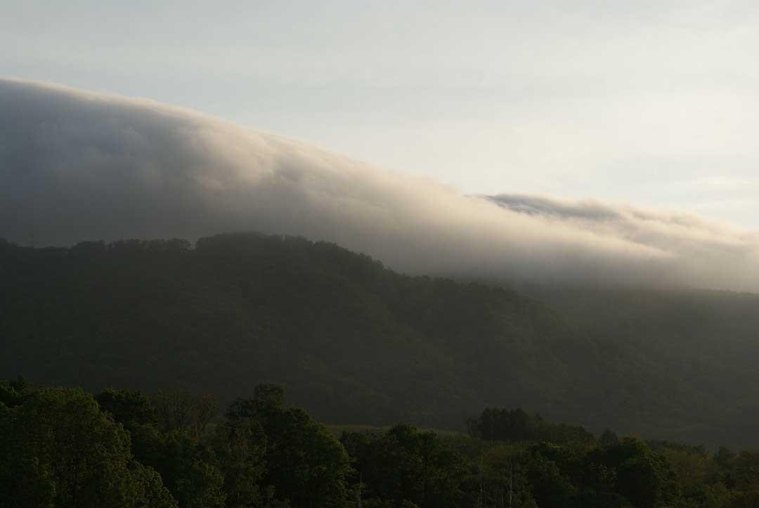 仁木町銀山の風景