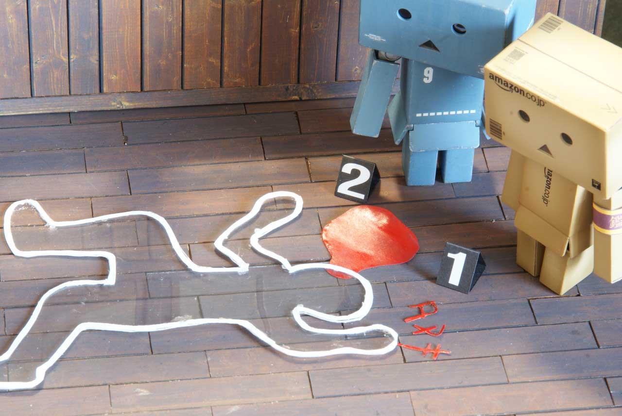 ダンボーと殺人事件:ダイイングメッセージ