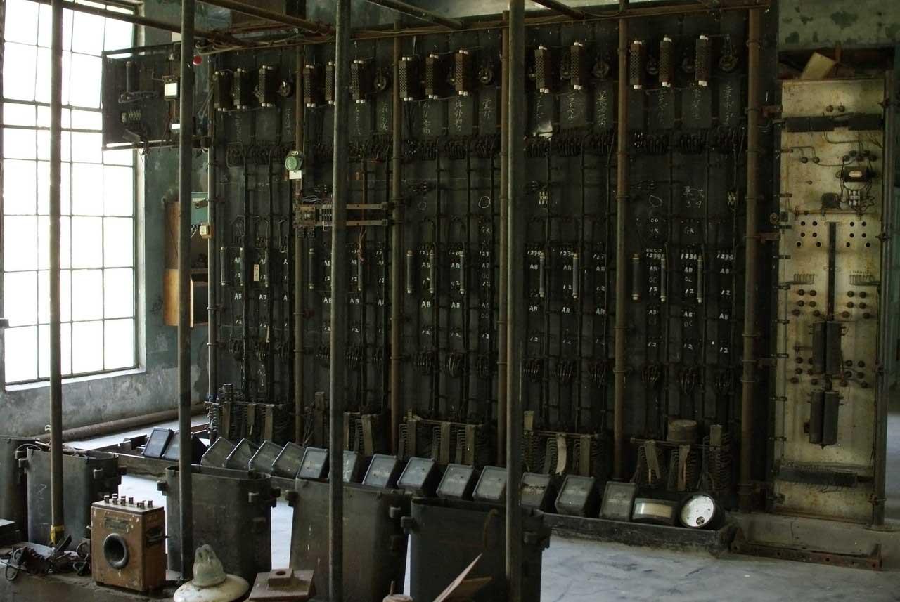 北海道産業遺産「北炭幌内炭鉱変電所」