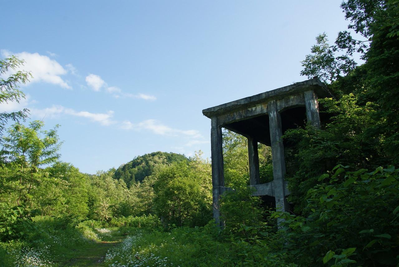 【写真】幌内炭鉱自然公園:北海道産業遺産 三笠編#2