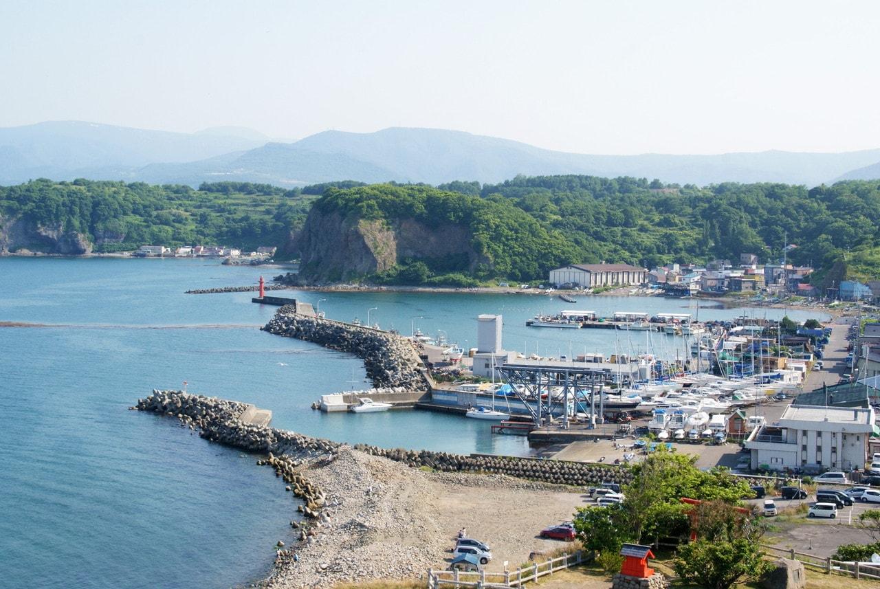 写真:小樽撮影スポット#3「祝津漁港と高島岬」