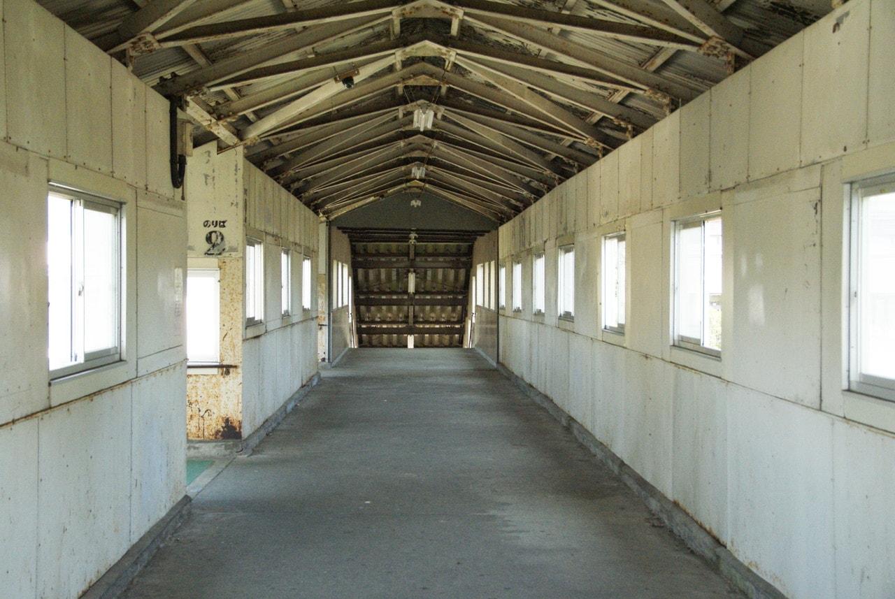 写真北海道撮影スポット室蘭本線豊浦駅