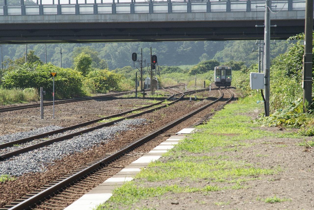 写真北海道撮影スポット室蘭本線長和駅