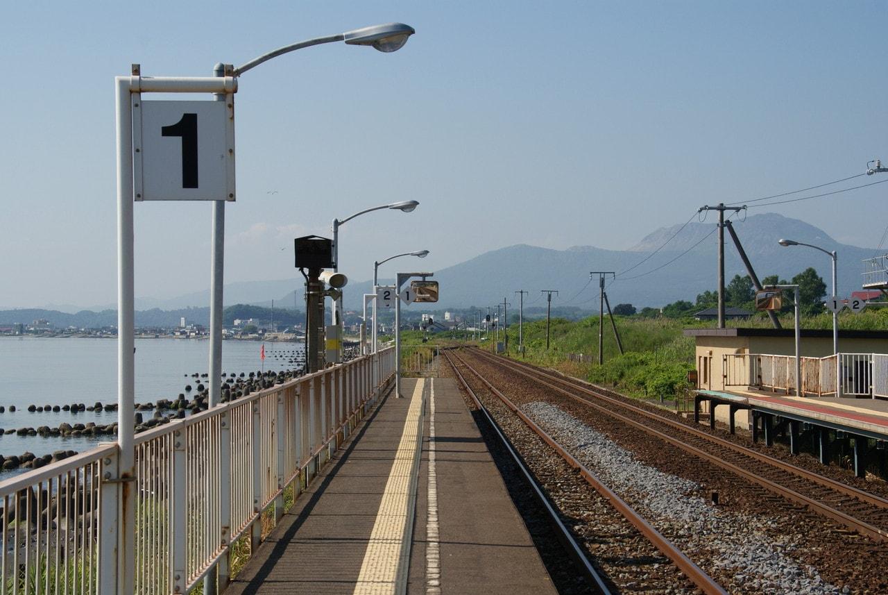 写真北海道撮影スポット室蘭本線北舟岡駅