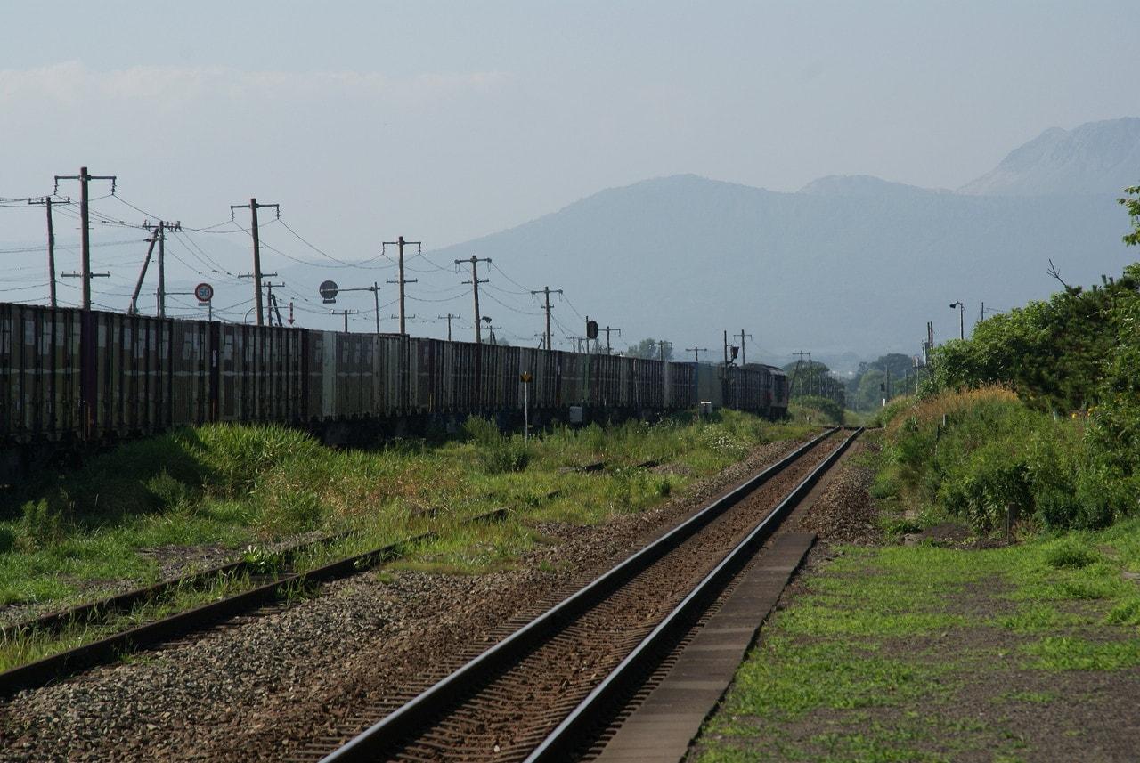 写真北海道撮影スポット室蘭本線稀府駅