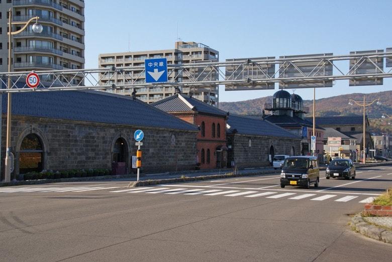 ゴールデンカムイ小樽:運河プラザ