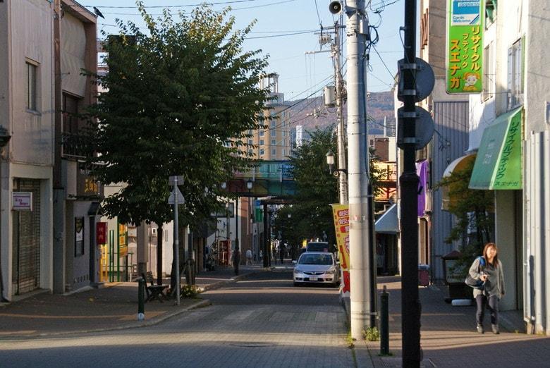 ゴールデンカムイ小樽:花園銀座商店街