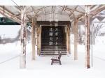 写真:後志撮影スポット冬編「函館本線・小沢駅と比羅夫駅」