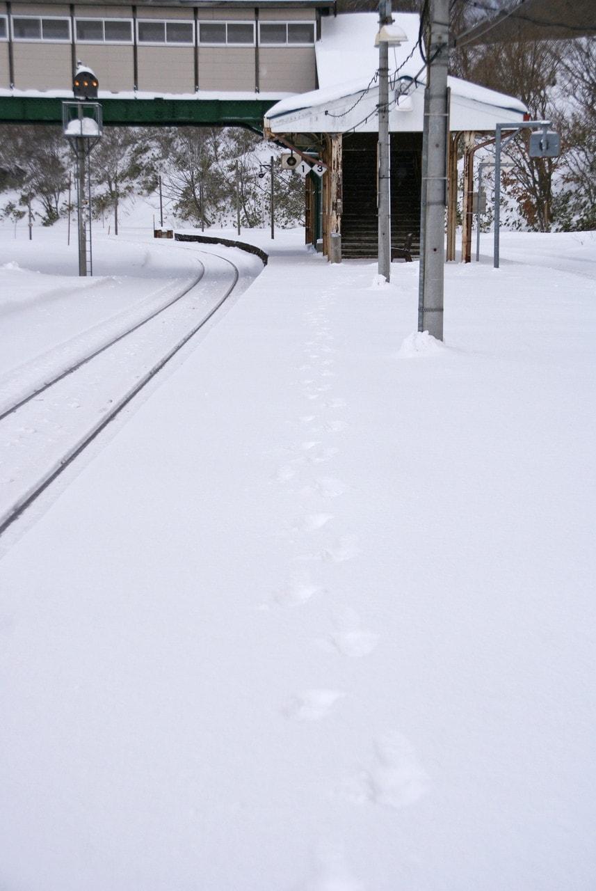 JR函館本線小沢駅