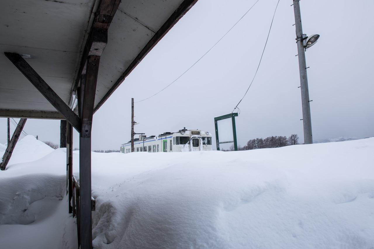 札沼線(学園都市線)札比内駅