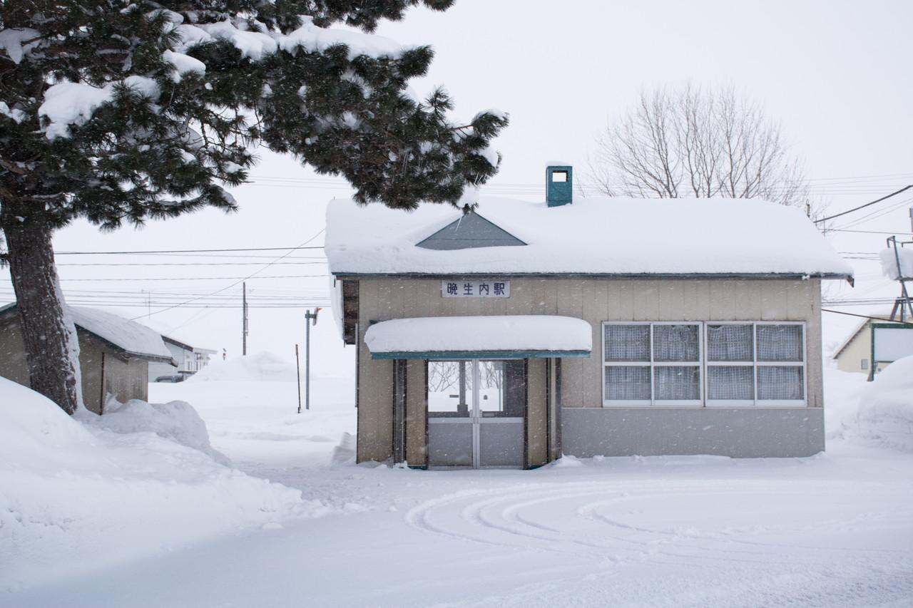 札沼線(学園都市線)晩生内駅