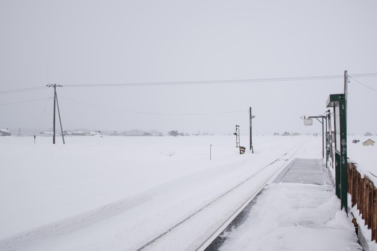 札沼線(学園都市線)南下徳富駅