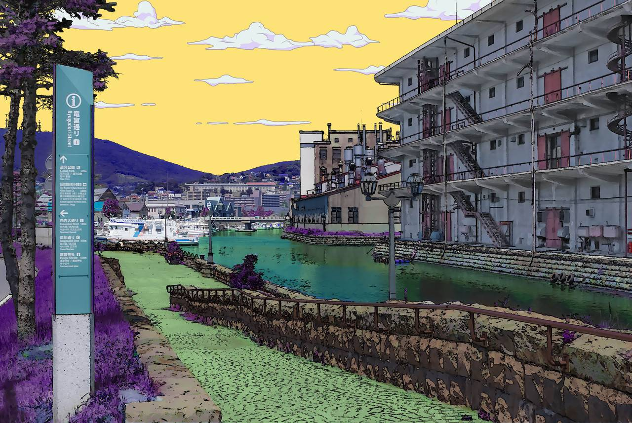 (ジョジョの奇妙な冒険)写真を杜王町風に加工するチュートリアル:Photoshop写真を杜王町風に加工するチュートリアル:Photoshop