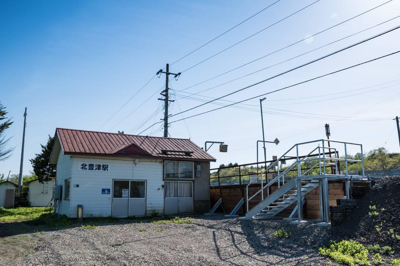 函館本線・北豊津駅