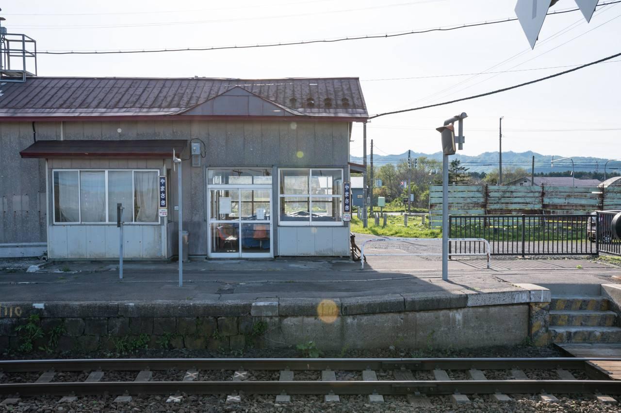 函館本線・山崎駅