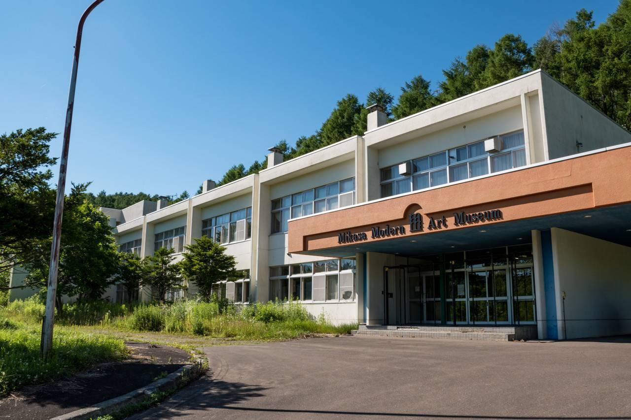 廃校と芸術:ミカサモダンアートミュージアム(旧幌内中学校)