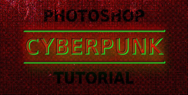 5分でできる!文字をサイバーパンク風に加工するチュートリアル:Photoshop