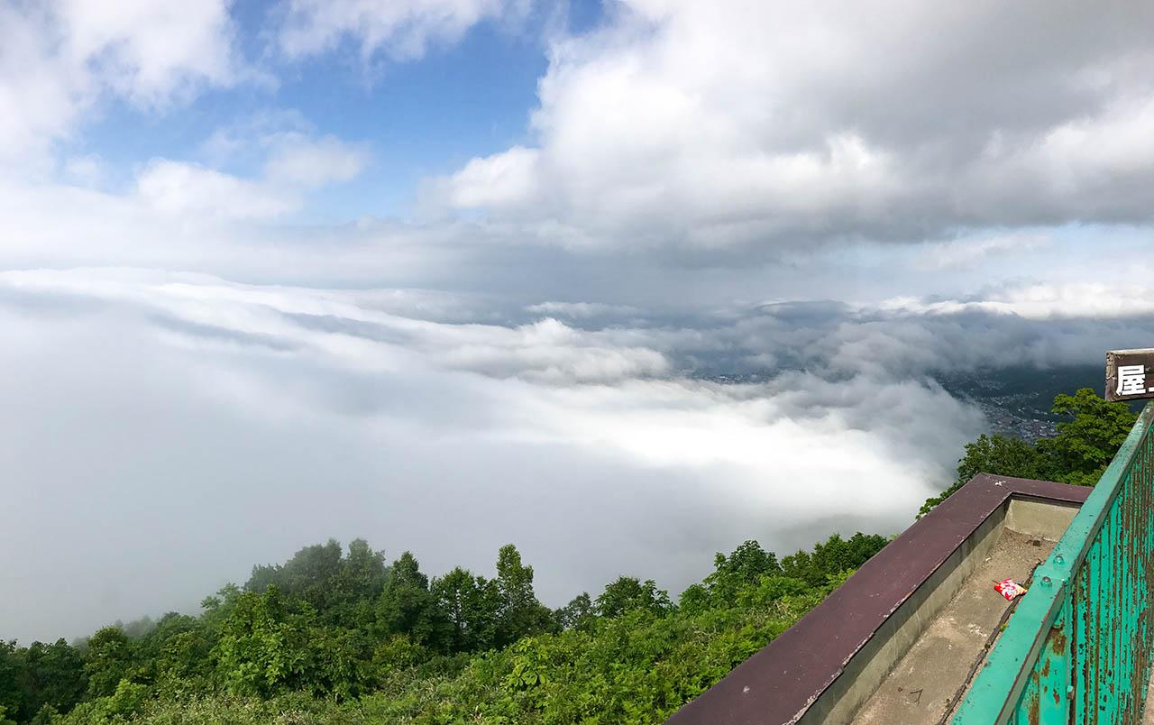 小樽天狗山の雲海