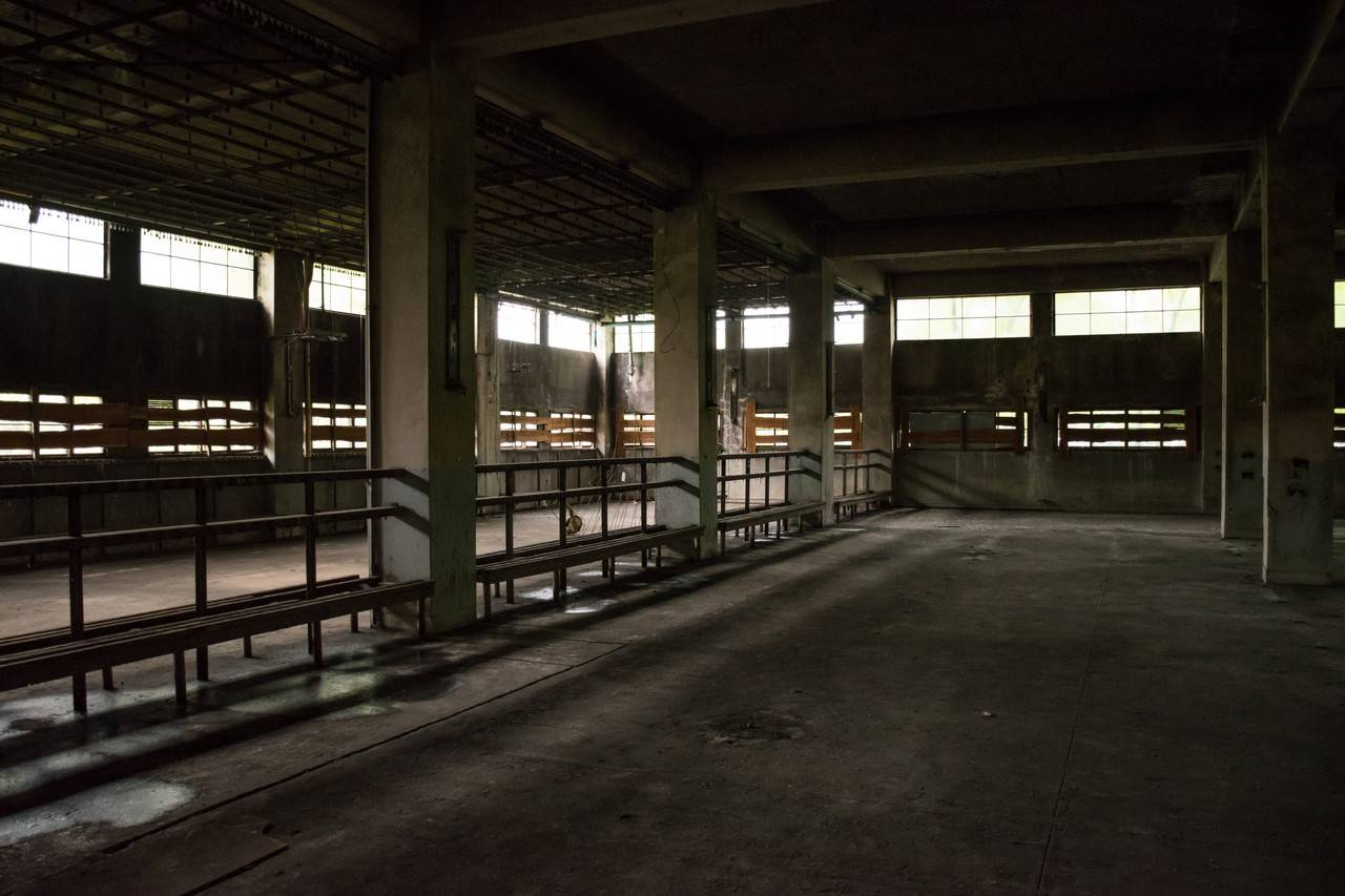 旧住友赤平炭鉱坑口浴場