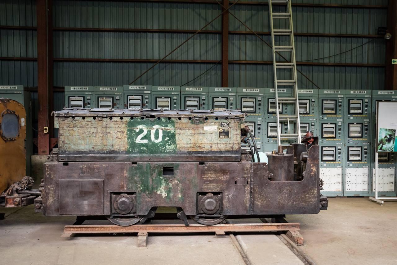 赤平炭鉱自走枠整備工場