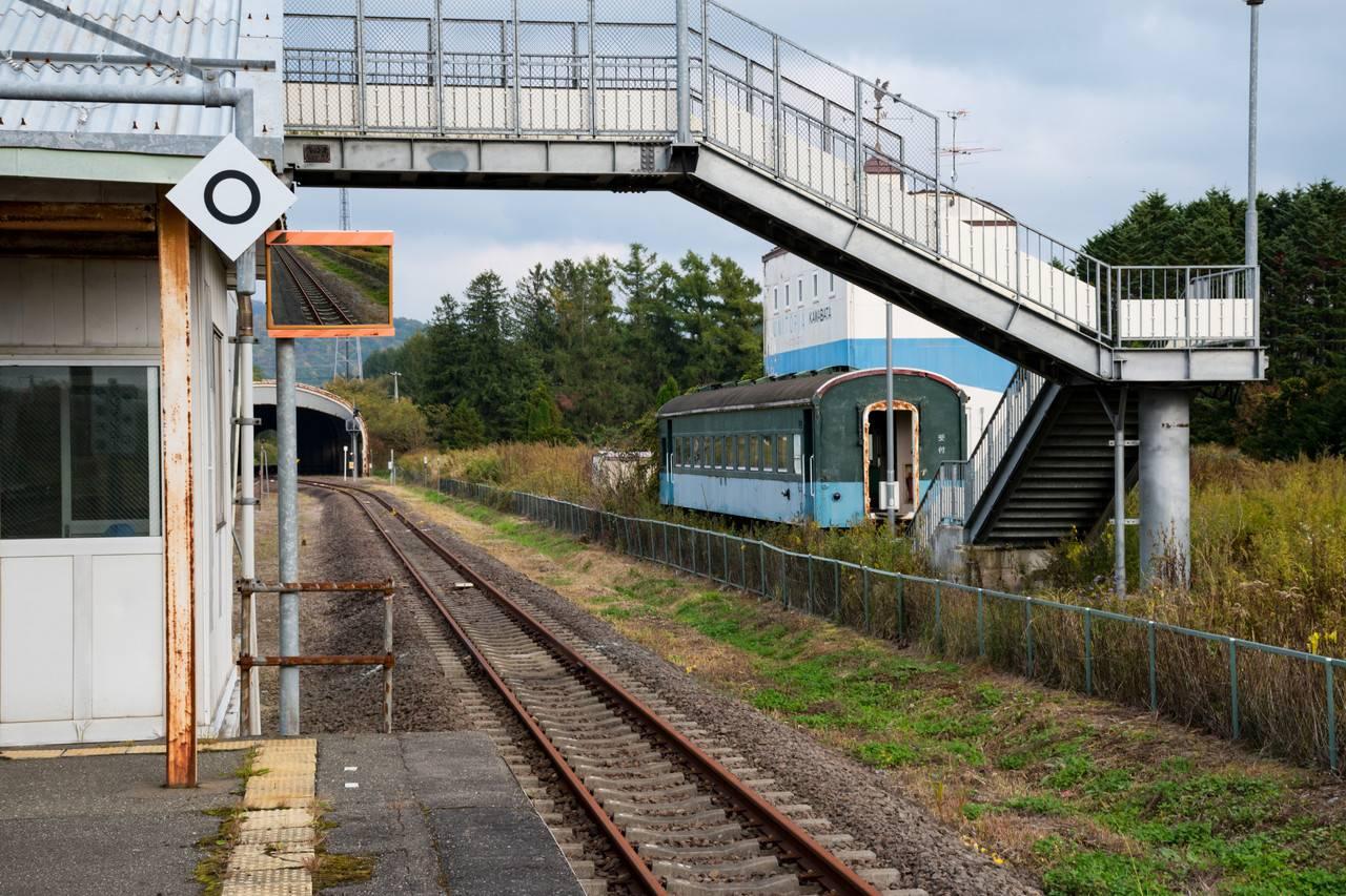 石勝線川端駅