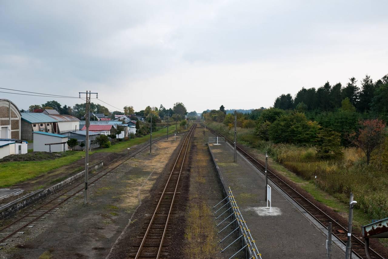 室蘭本線三川駅