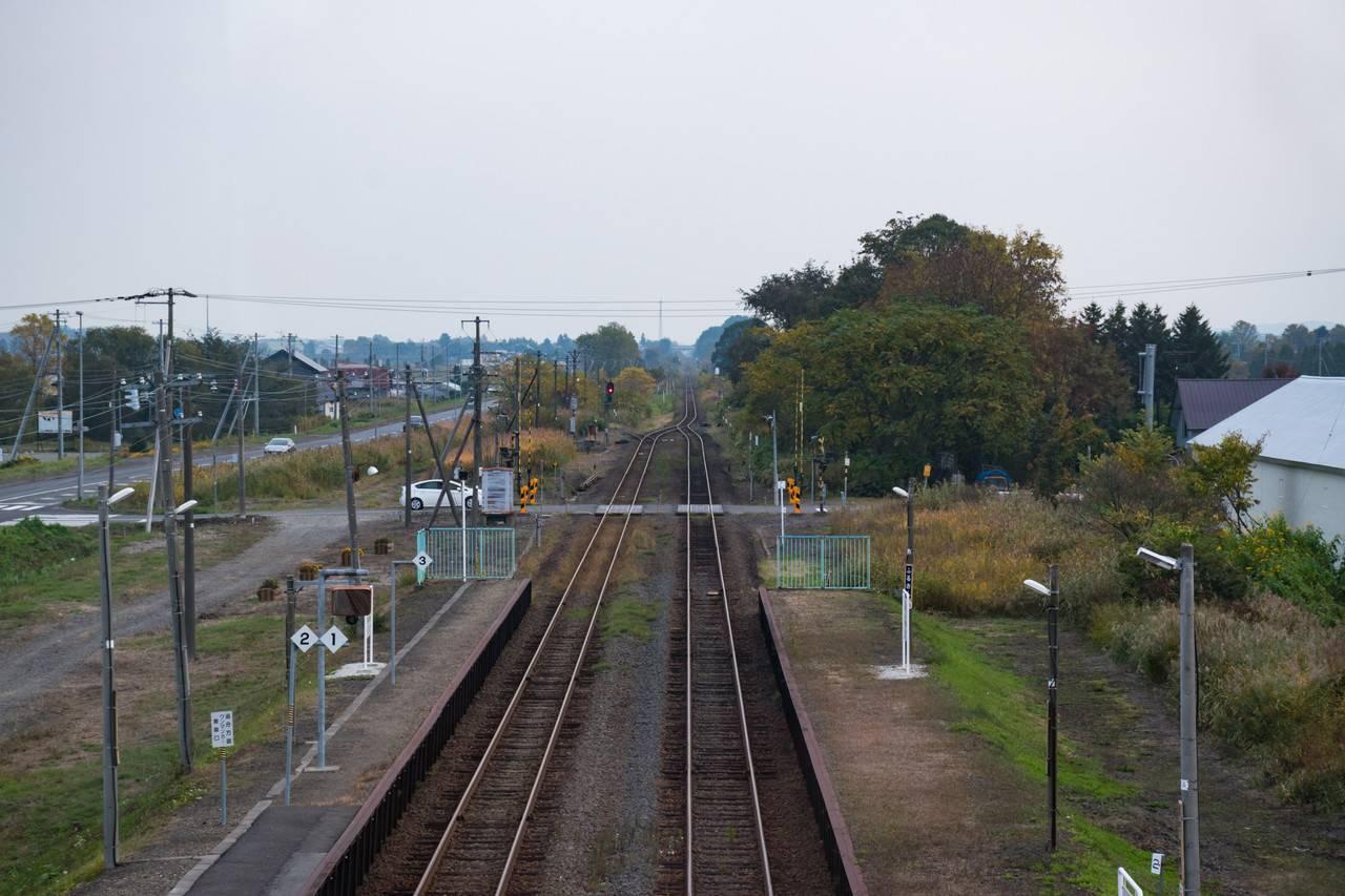 室蘭本線古山駅