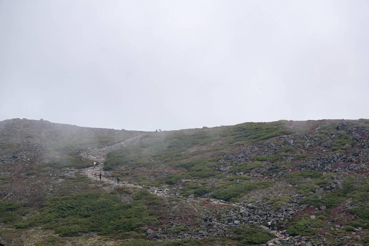 黒岳~石室~雲ノ平