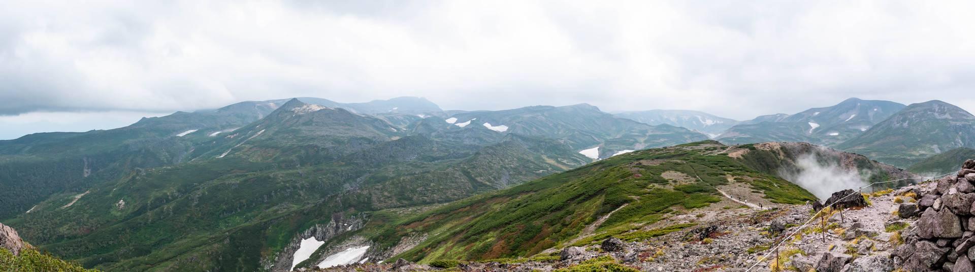 黒岳山頂の風景