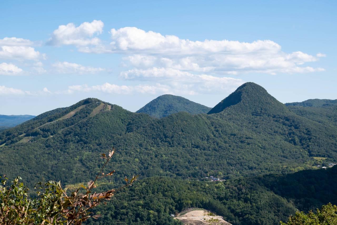 下藤野山(豊栄山)・焼山(豊平山)・豊見山