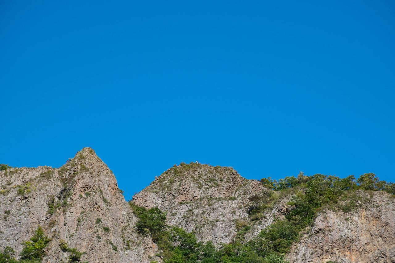 八剣山山頂