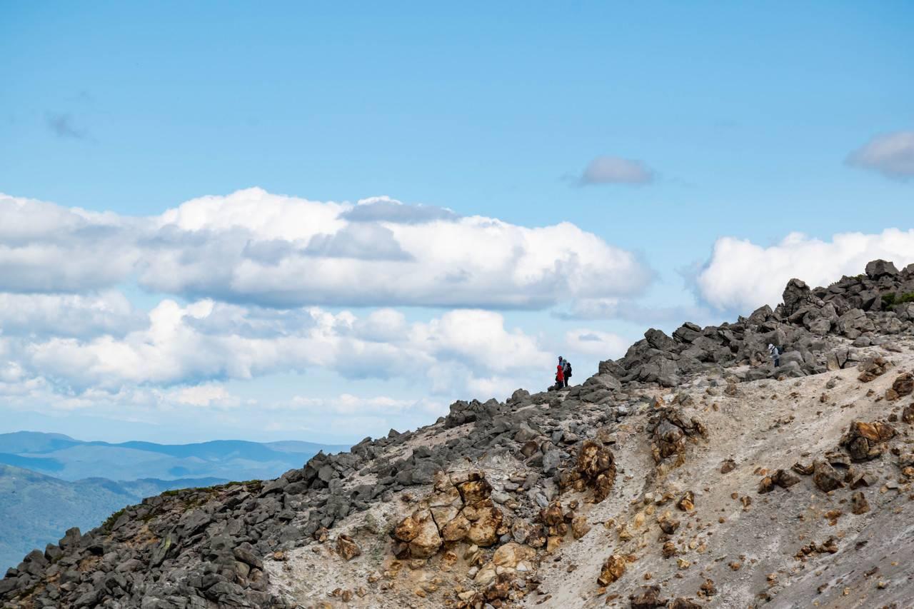 イワオヌプリ山頂付近