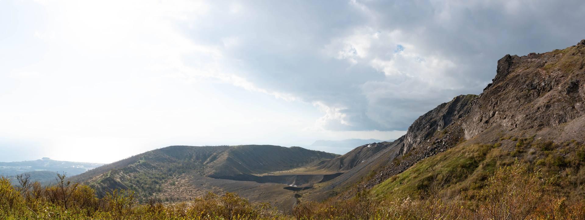 有珠山火口原展望台
