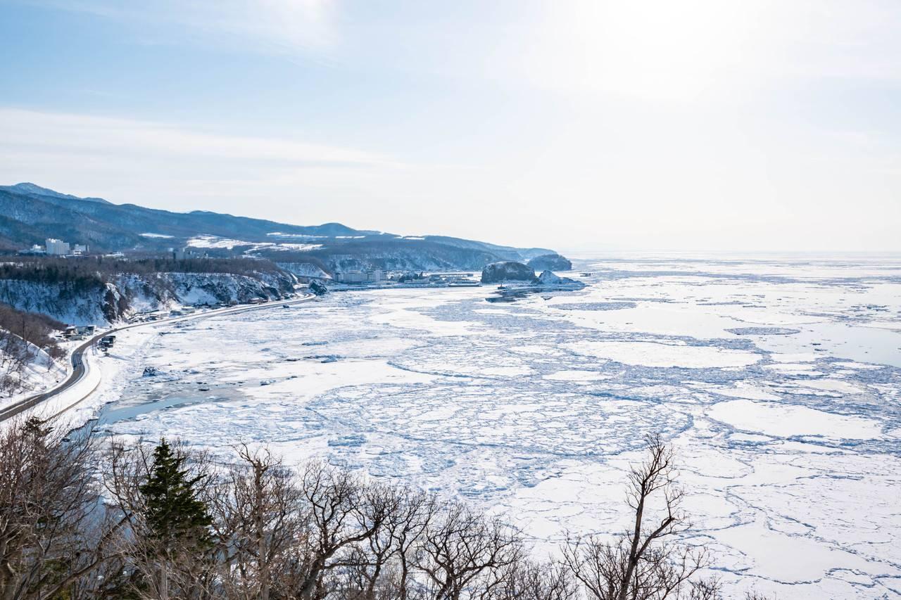 プユニ岬の流氷