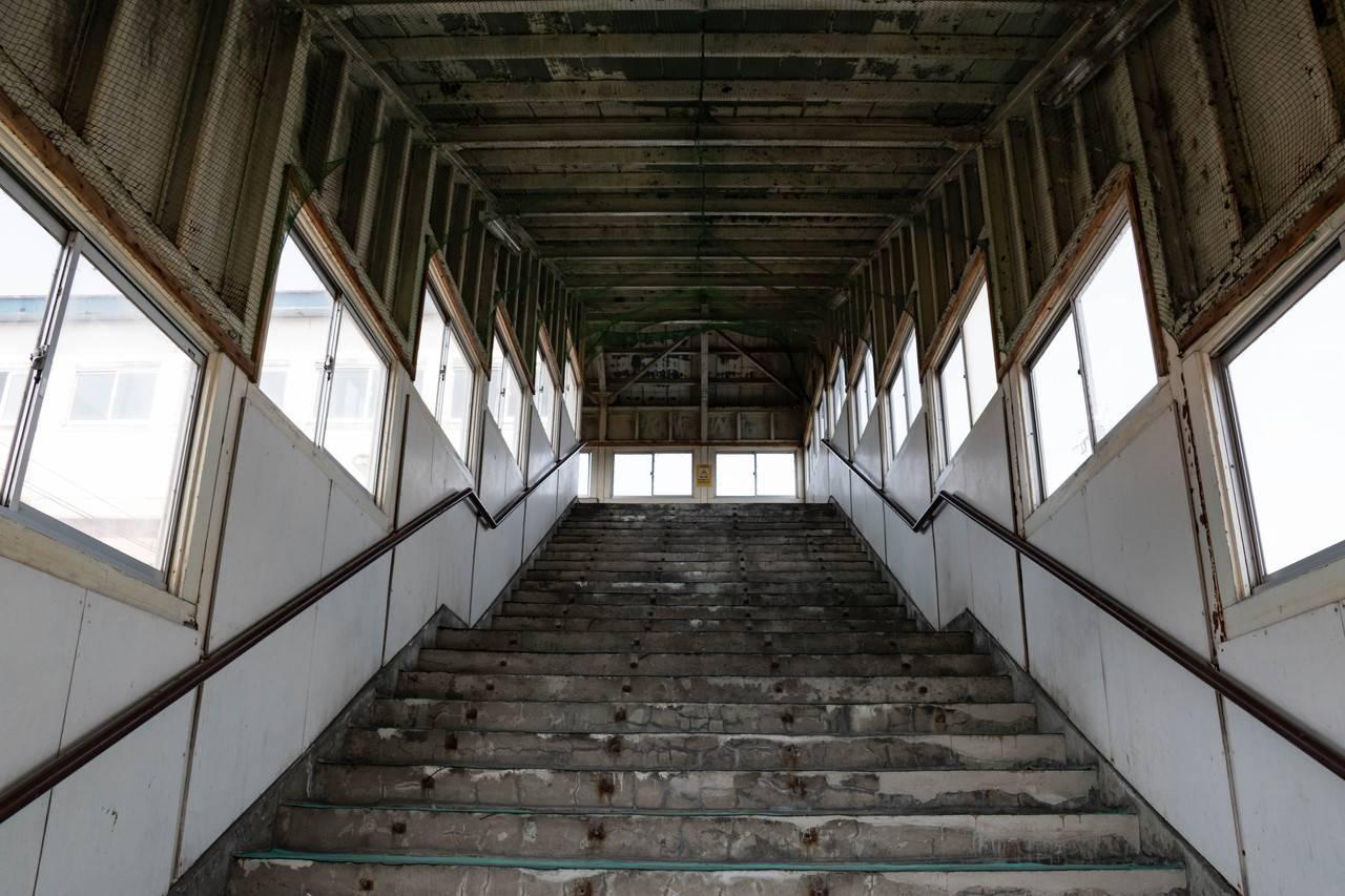 峰延駅跨線橋