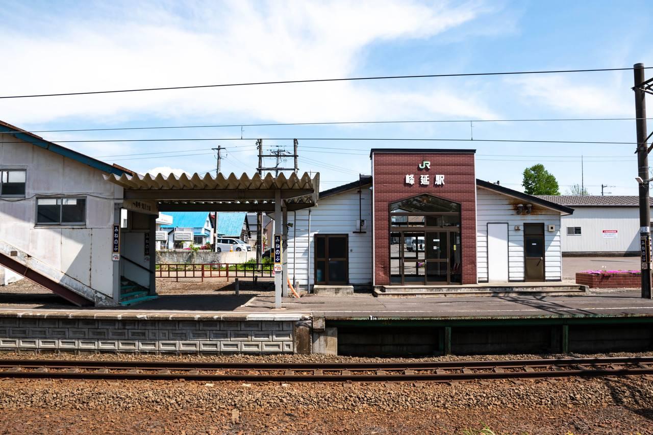 峰延駅ホーム
