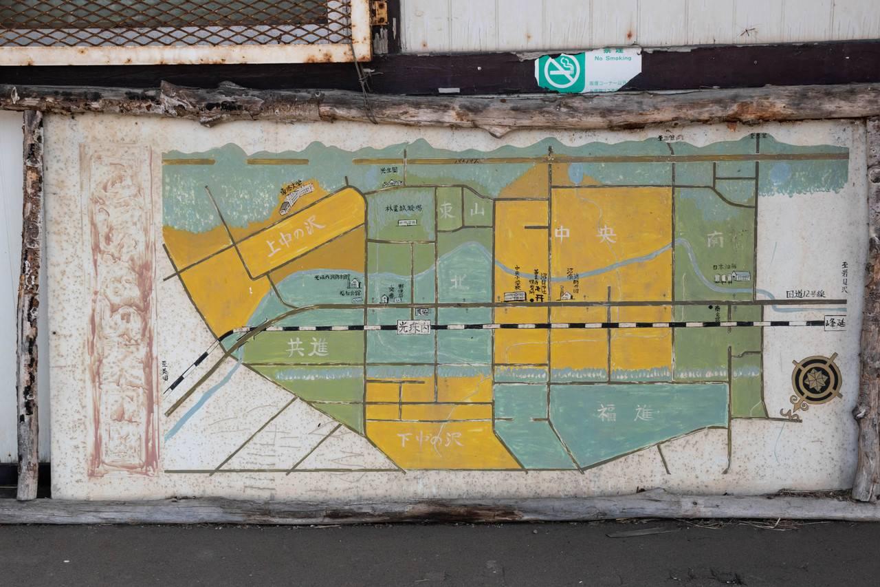 光珠内駅地図
