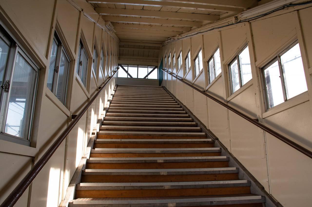 奈井江駅跨線橋