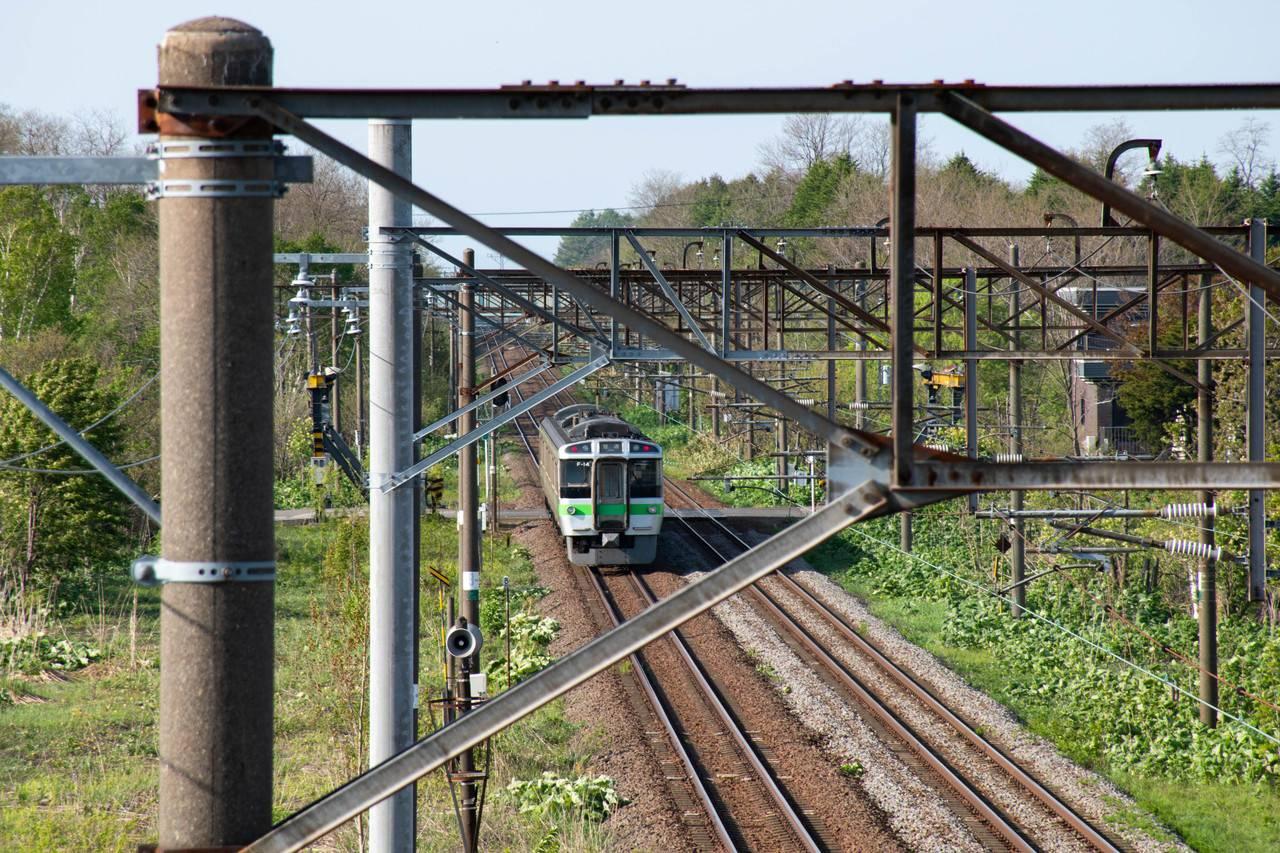 豊沼駅跨線橋