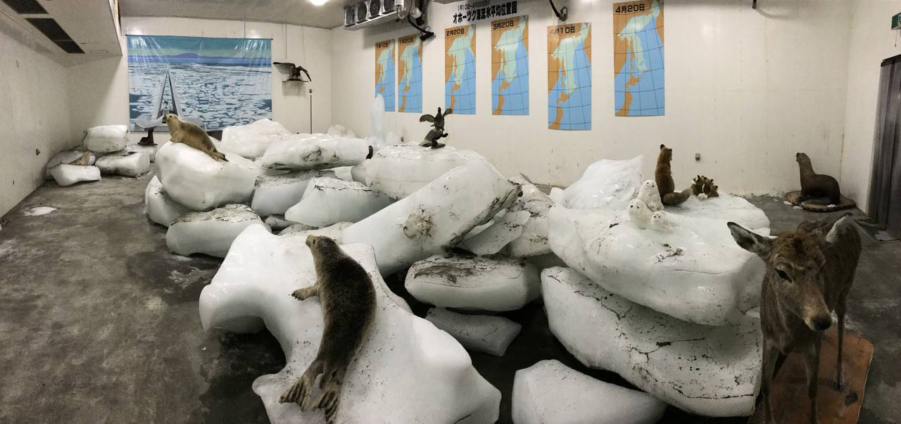 宗谷岬流氷館