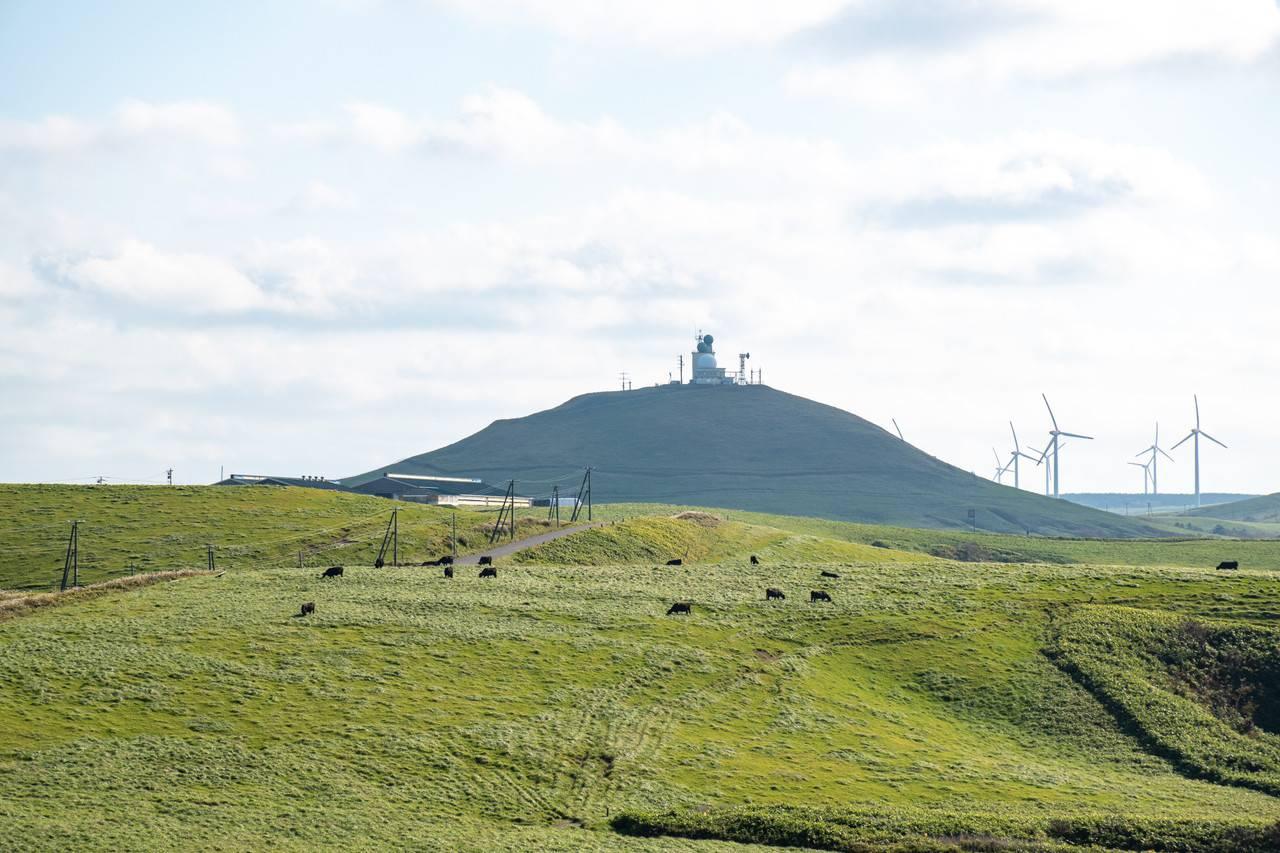 宗谷丘陵陸上自衛隊稚内分屯地丸山レーダー