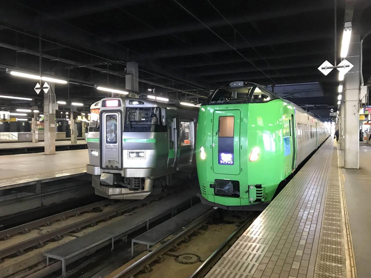 JR札幌網走間 特別急行ライラック