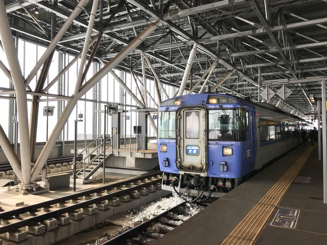 JR札幌網走間 特別急行大雪